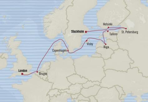 7 Seas Luxury Cruises Oceania Nautica  schedule 2022