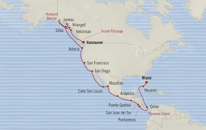 Oceania Cruises Regatta May 1-29 2019