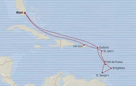 SINGLE Cruise - Balconies-Suites Oceania Riviera February 12-24 2020 CRUISE Miami, FL, United States to Miami, FL, United States