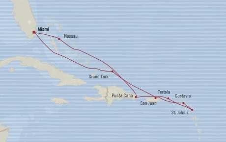 LUXURY CRUISE - Balconies-Suites Oceania Riviera January 13-23 2020 Cruises Miami, FL, United States to Miami, FL, United States