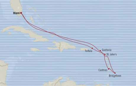 Singles Cruise - Balconies-Suites Oceania Riviera January 23 February 2 2020 Cruises Miami, FL, United States to Miami, FL, United States