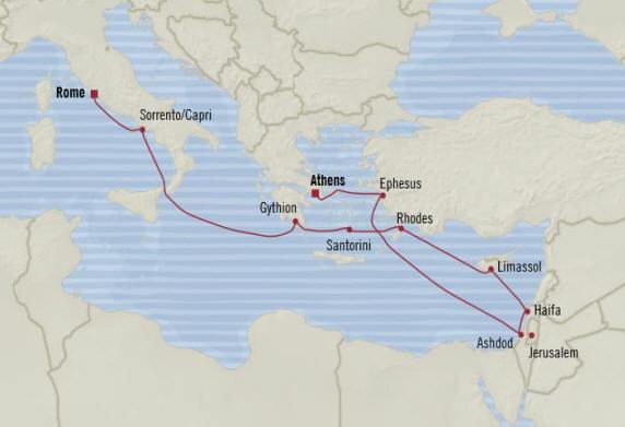 7 Seas Luxury Cruises Oceania  Riviera 2022