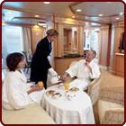 LUXURY CRUISES - Penthouse, Veranda, Balconies, Windows and Suites Master Suites