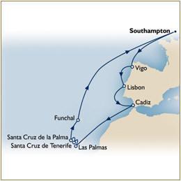 BLOG Cruise QE Blog/Forum QE Cunard Blog Blog Map Cunard QE Blog Cruise QE 2010 Southampton to Southampton