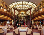 Luxury Cruise SINGLE/SOLO Cunard Queen Elizabeth 2019 Qe restaurffffffffffffffant