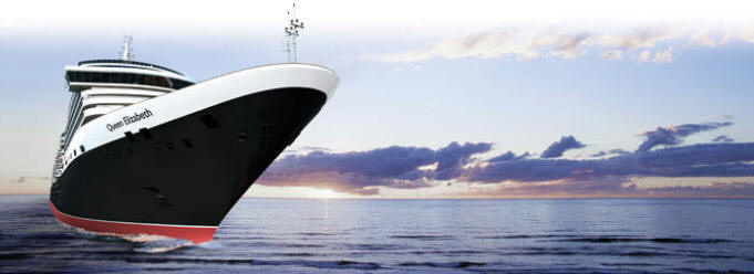 World CRUISE SHIP BIDS - Cunard Queen Elizabeth CRUISE SHIP Line 2023
