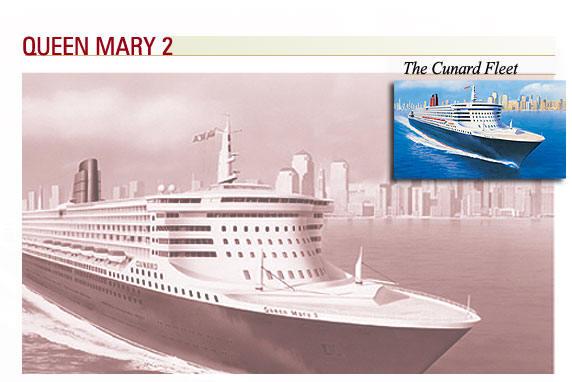 7 Seas LUXURY Cruise Queen Mary 2