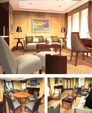 suite Cunard Queen Mary 2 QM 2