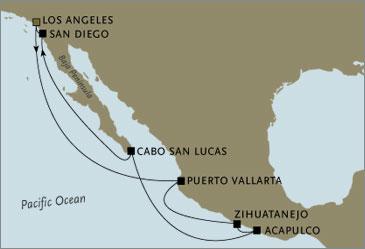 Luxury Seven Seas Mariner Los Angeles