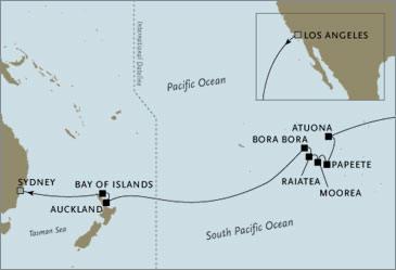 Seven Seas Voyager January