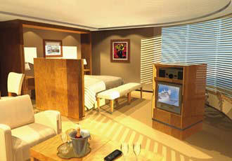 Penthouse, Veranda, Windows, Cruises Ship Charters, Incentive, Groups Cruise Regent Voyager Cruise Line