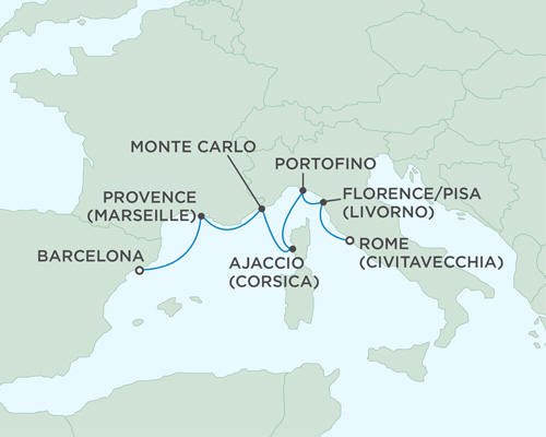 ALL SUITE CRUISE SHIPS - Cruises Seven Seas Mariner May 10-17 2015 - 7 Days