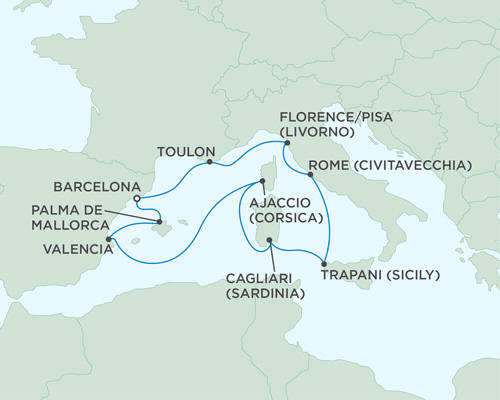 ALL SUITE CRUISE SHIPS - Cruises Seven Seas Mariner May 17-27 2015 - 10 Days