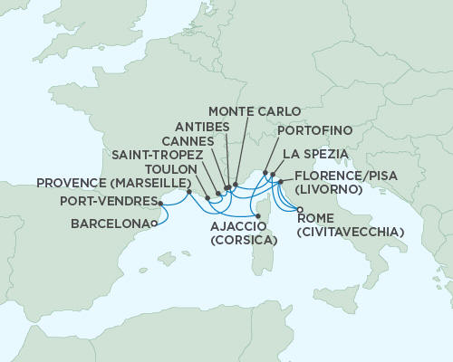 ALL SUITE CRUISE SHIPS - Cruises Seven Seas Mariner May 27 June 11 2015 - 15 Days