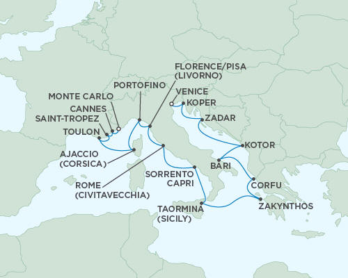 ALL SUITE CRUISE SHIPS - Cruises Seven Seas Mariner June 4-21 2022 - 17 Days