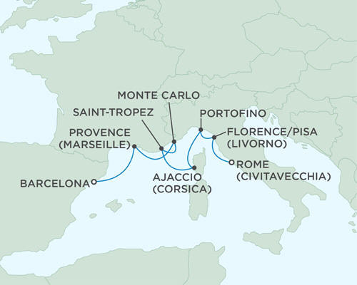 ALL SUITE CRUISE SHIPS - Cruises Seven Seas Mariner July 12-19 2015 - 7 Days
