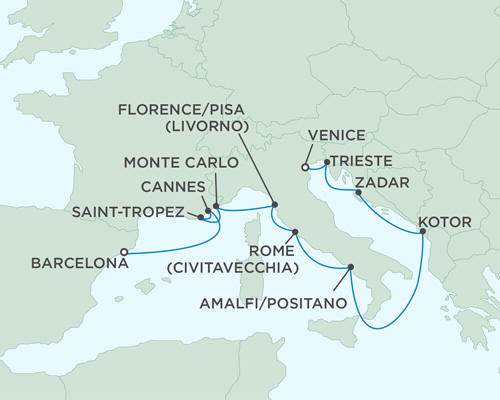 ALL SUITE CRUISE SHIPS - Cruises Seven Seas Mariner July 29 August 9 2015 - 11 Days