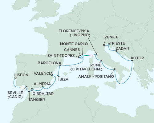ALL SUITE CRUISE SHIPS - Cruises Seven Seas Mariner July 29 August 17 2015 - 19 Days