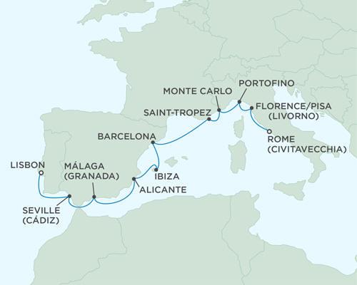 World CRUISE SHIP BIDS Seven Seas Mariner August 17-27 2023 - 10 Days