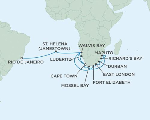 ALL SUITE CRUISE SHIPS - Cruises Seven Seas Mariner November 24 December 23 2015 - 29 Days