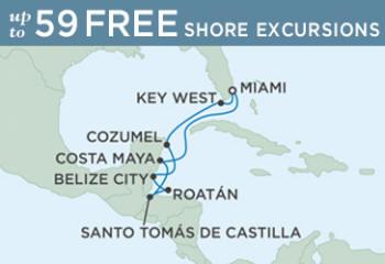 Itinerary Map December 17-27 2014 - 10 Days regent navigator