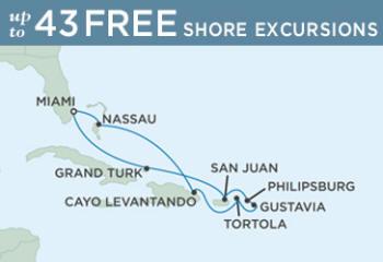 Itinerary Map Regent  Navigator December 27 2014 January 7 2015 - 10 Days