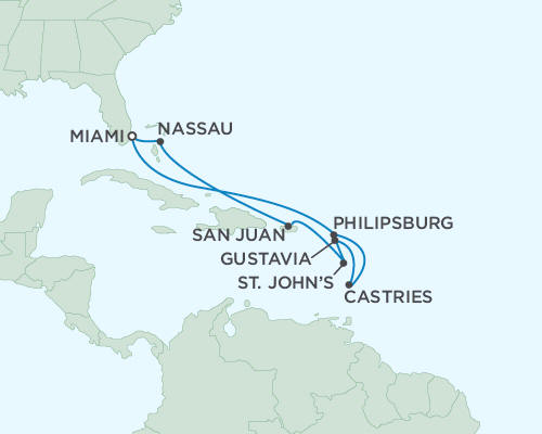 ALL SUITE CRUISE SHIPS - March 18-28 2022 - 10 Days