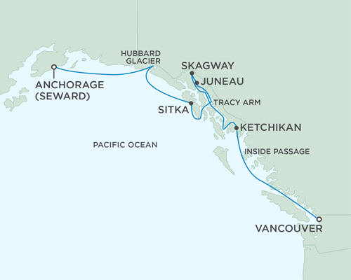 ALL SUITE CRUISE SHIPS - July 22-29 2018 - 7 Days