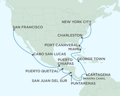 ALL SUITE CRUISE SHIPS - September 5-26 2022 - 21 Days