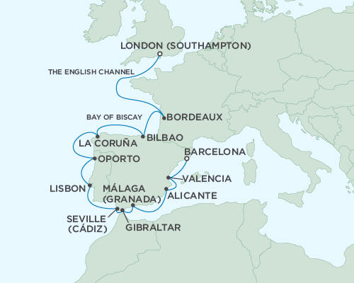 ALL SUITE CRUISE SHIPS - Regent Seas Seas Voyager Cruises May 23 June 6 2015 - 14 Days