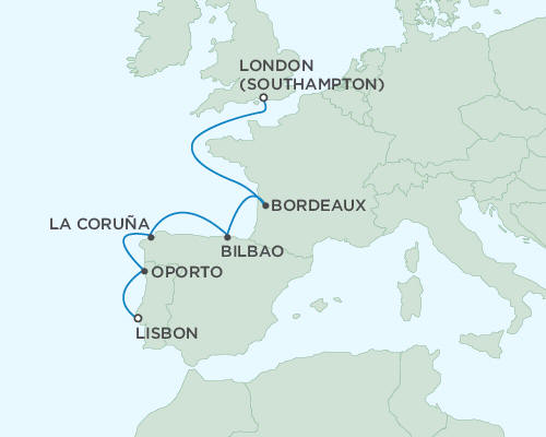 ALL SUITE CRUISE SHIPS - Regent Seas Seas Voyager Cruises May 30 June 6 2015 - 7 Days