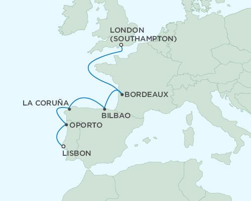 Regent Seas Seas Voyager Cruises May 30 June 6 2015 - 7 Days