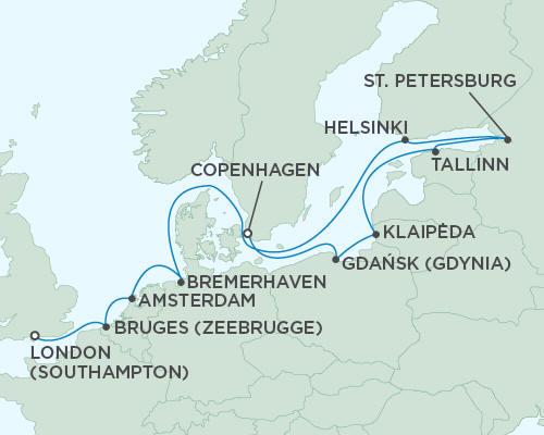 Regent Seas Seas Voyager Cruises June 6-18 2015 - 12 Days