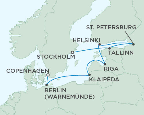 ALL SUITE CRUISE SHIPS - Regent Seas Seas Voyager Cruises June 26 July 6 2018 - 10 Days