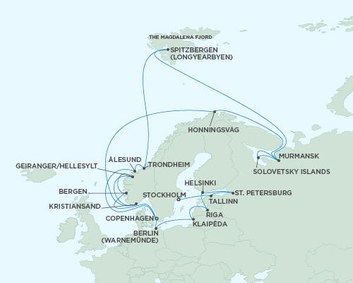 ALL SUITE CRUISE SHIPS - Regent Seas Seas Voyager Cruises June 26 July 26 2022 - 30 Days