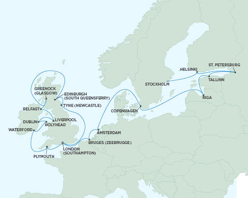 ALL SUITE CRUISE SHIPS - Regent Seas Seas Voyager Cruises August 17 September 10 2015 - 24 Days