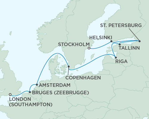 ALL SUITE CRUISE SHIPS - Regent Seas Seas Voyager Cruises August 29 September 10 2015 - 12 Days
