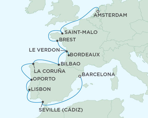 ALL SUITE CRUISE SHIPS - Regent Seas Seas Voyager Cruises September 30 October 12 2015 - 12 Days