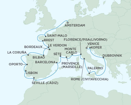 ALL SUITE CRUISE SHIPS - Regent Seas Seas Voyager Cruises September 30 October 23 2015 - 23 Days