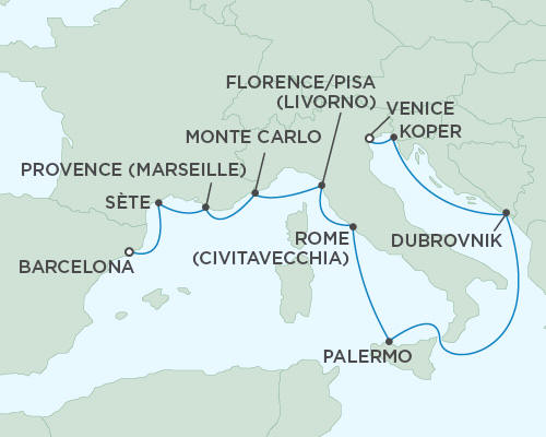 ALL SUITE CRUISE SHIPS - Regent Seas Seas Voyager Cruises October 12-23 2015 - 11 Days