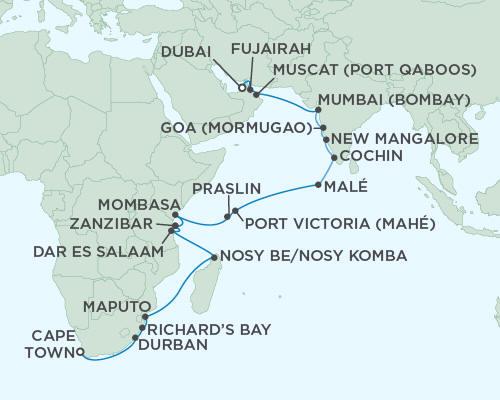 ALL SUITE CRUISE SHIPS - Regent Seas Seas Voyager Cruises November 21 December 21 2015 - 30 Days
