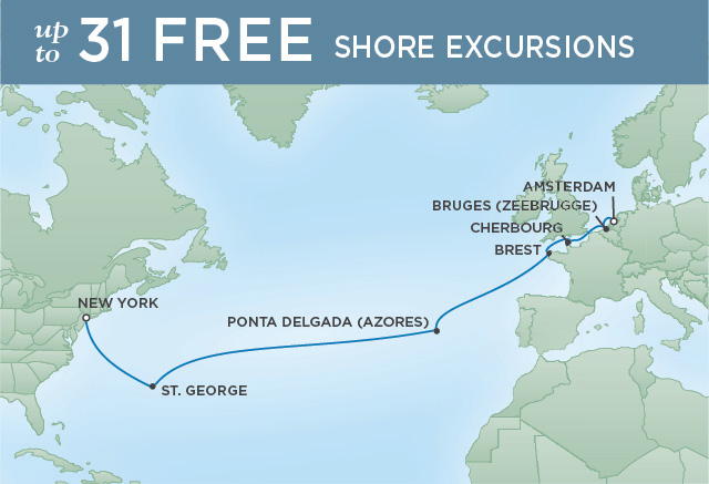 Regent/Radisson Luxury Cruises ATLANTIC EXPEDITION | 15 NIGHTS | DEPARTS MAY 15, 2021 |  Navigator