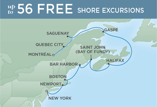 HISTORIC ATLANTIC SHORES | 10 NIGHTS | DEPARTS SEP 13, 2019 | Seven Seas Navigator