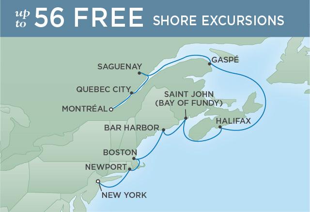7 Seas Luxury Cruises NORTHERN COASTS & AUTUMN LEAVES   10 NIGHTS   DEPARTS SEP 23, 2022   Seven Seas Navigator