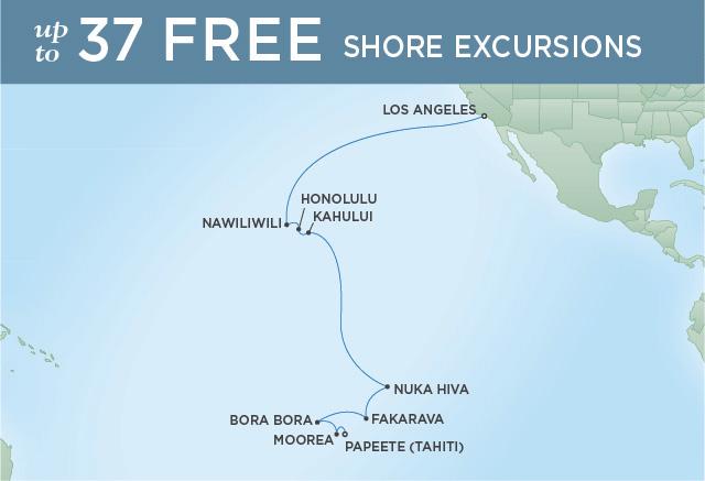 7 Seas Luxury Cruises ALOHA TO EDEN   18 NIGHTS   DEPARTS DEC 05, 2022   Seven Seas Navigator