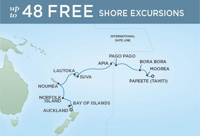Regent/Radisson Luxury Cruises TAHITIAN TRADITIONS | 15 NIGHTS | DEPARTS MAR 13, 2020 |  Navigator