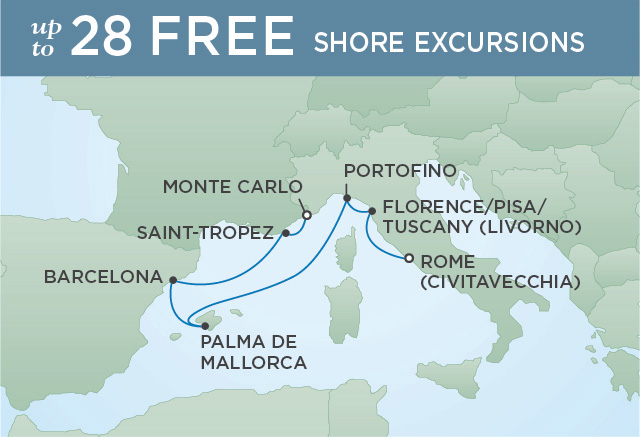 EL GRECO TO GAUDI | 7 NIGHTS | DEPARTS JUL 22, 2019 | Seven Seas Voyager