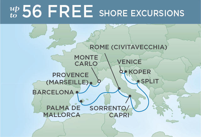 SUMMER ON THE ADRIATIC | 11 NIGHTS | DEPARTS JUL 29, 2019 | Seven Seas Voyager
