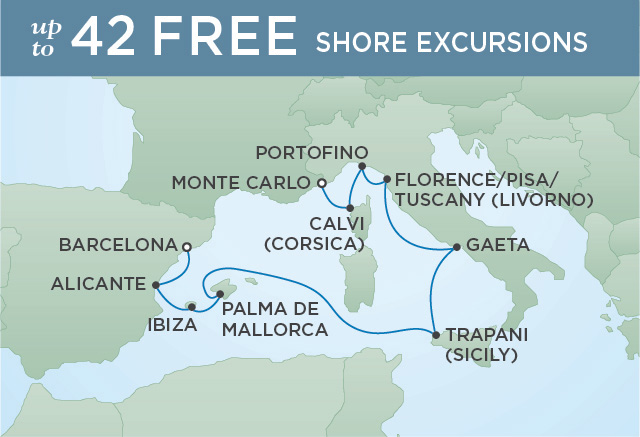 TURQUOISE BEACHES | 10 NIGHTS | DEPARTS AUG 19, 2019 | Seven Seas Voyager