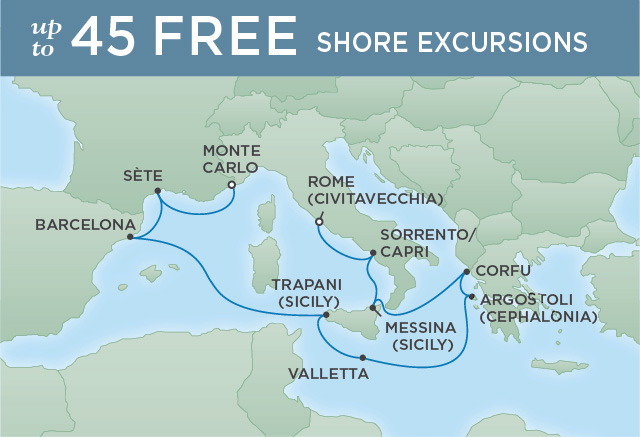 ELEGANT COASTS & HARBORS | 10 NIGHTS | DEPARTS AUG 29, 2019 | Seven Seas Voyager